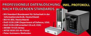 Datenlöschung Datenrettung Datensicherung eb24
