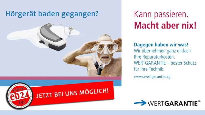 WERTGARANTIE Hörgeräte Komplettschutz eb24