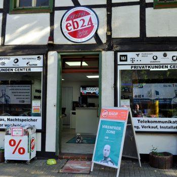 eb24 Shop von Außen